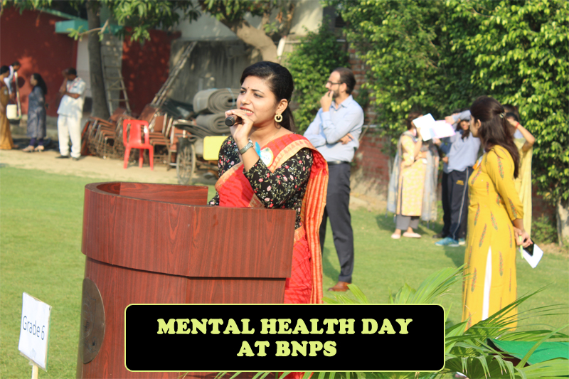 mental health day at bnps