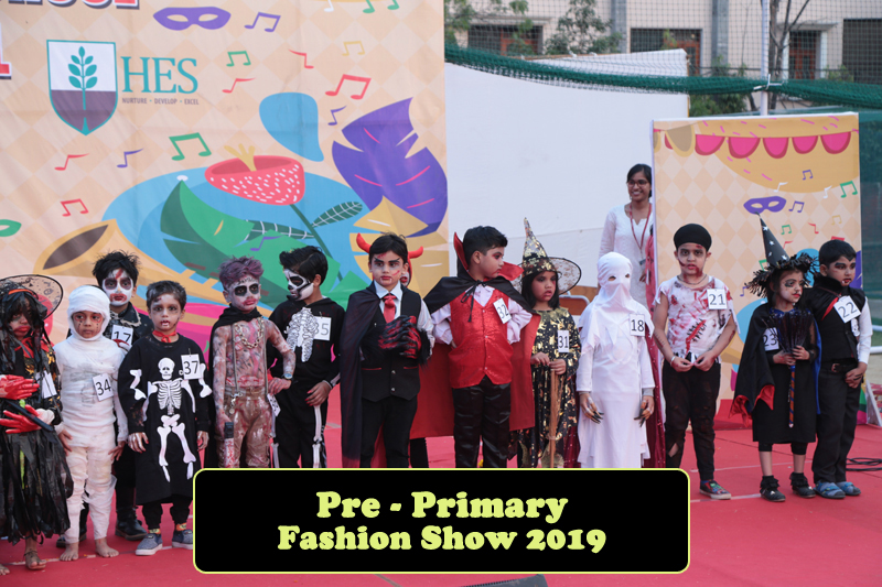 pre primary fashion show